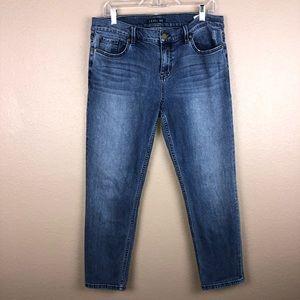 Anthropologie Level 99 Sz 32 Skinny Jean High Rise